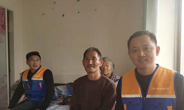 【暖心计划】我们在行动|为文登区天福街道72岁于奶奶送健康、送福利
