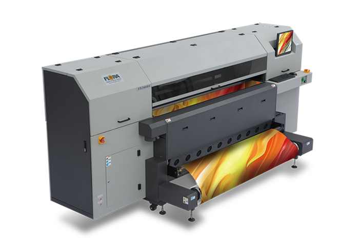 Flora's New Dye-Sub Textile Printer From China—The TX2000EP