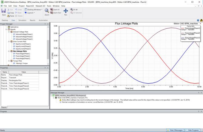 步骤详解 | Motor-CAD Emag 模型导入 Ansys Maxwell