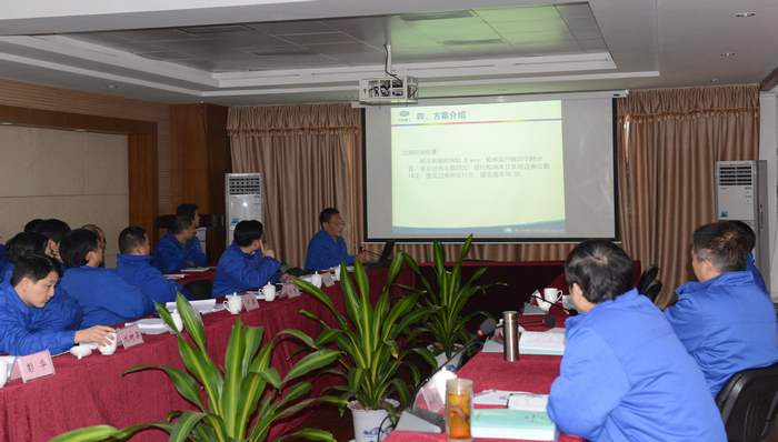 Company Held Research Project Review Meeting