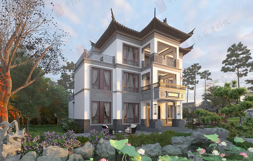 农村自建别墅筑屋理念:有限的土地,完美的设计