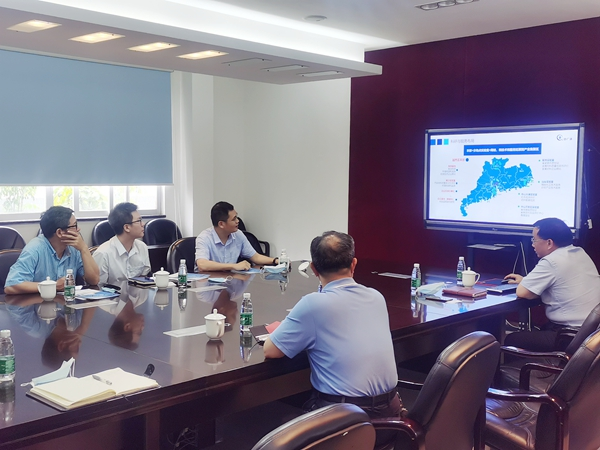 中国中药控股有限公司到中广测共商深化合作