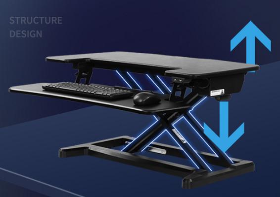 乐歌 站立办公电动升降电脑桌EM7S