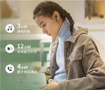 真无线运动蓝牙耳机半入耳挂耳式