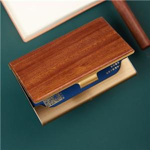 办公套装红木名片盒黄铜笔商务收米比分网app