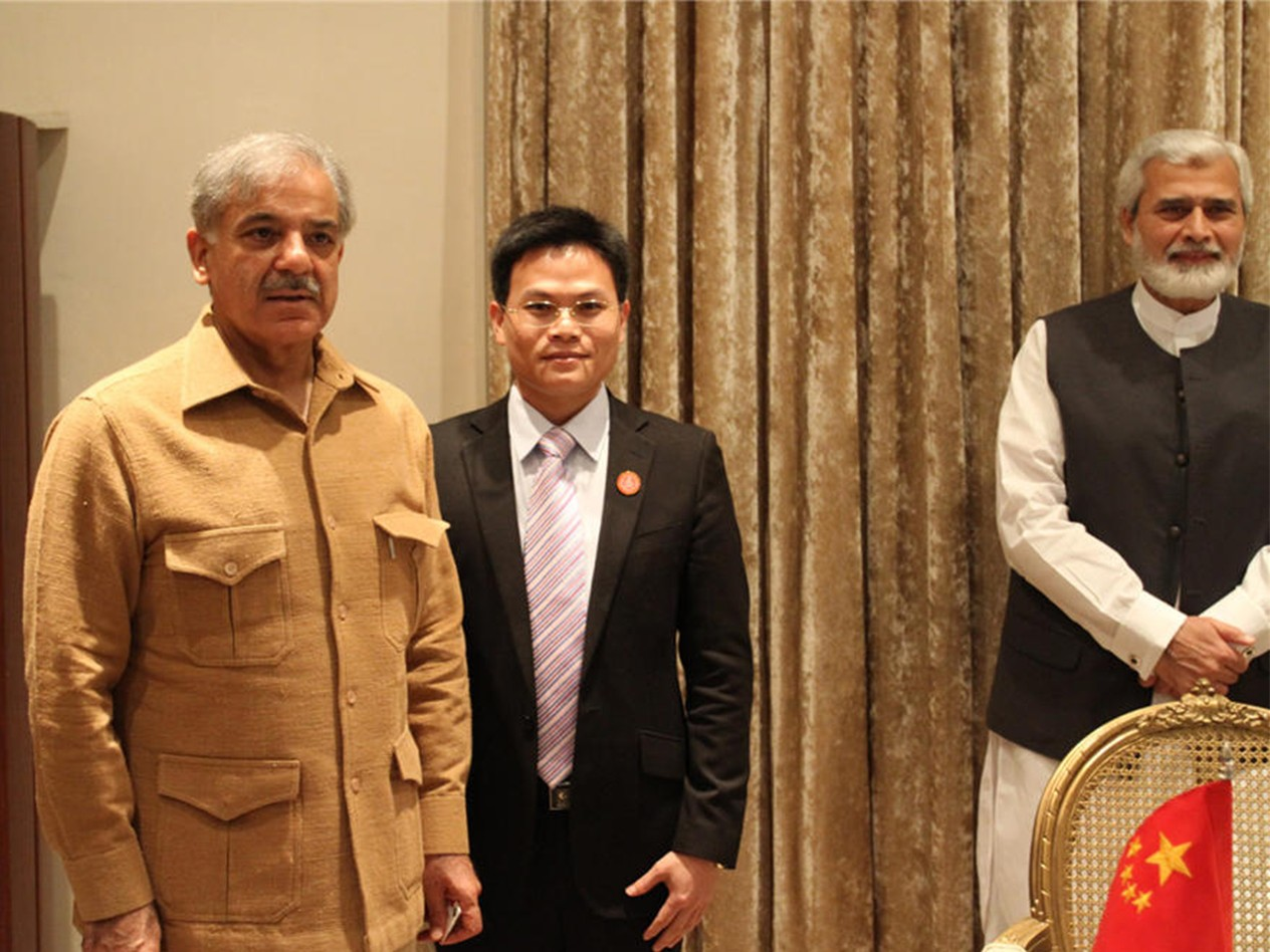 Meeting with Punjab Chief Minister in Pakistan