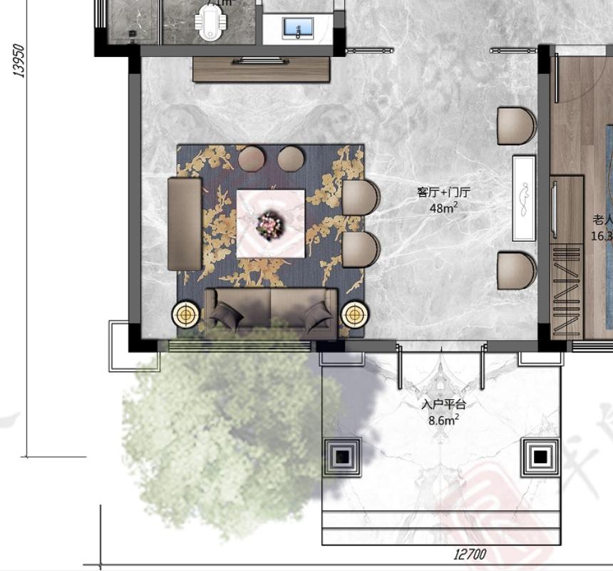 筑屋匠乡村别墅设计建造——客厅篇