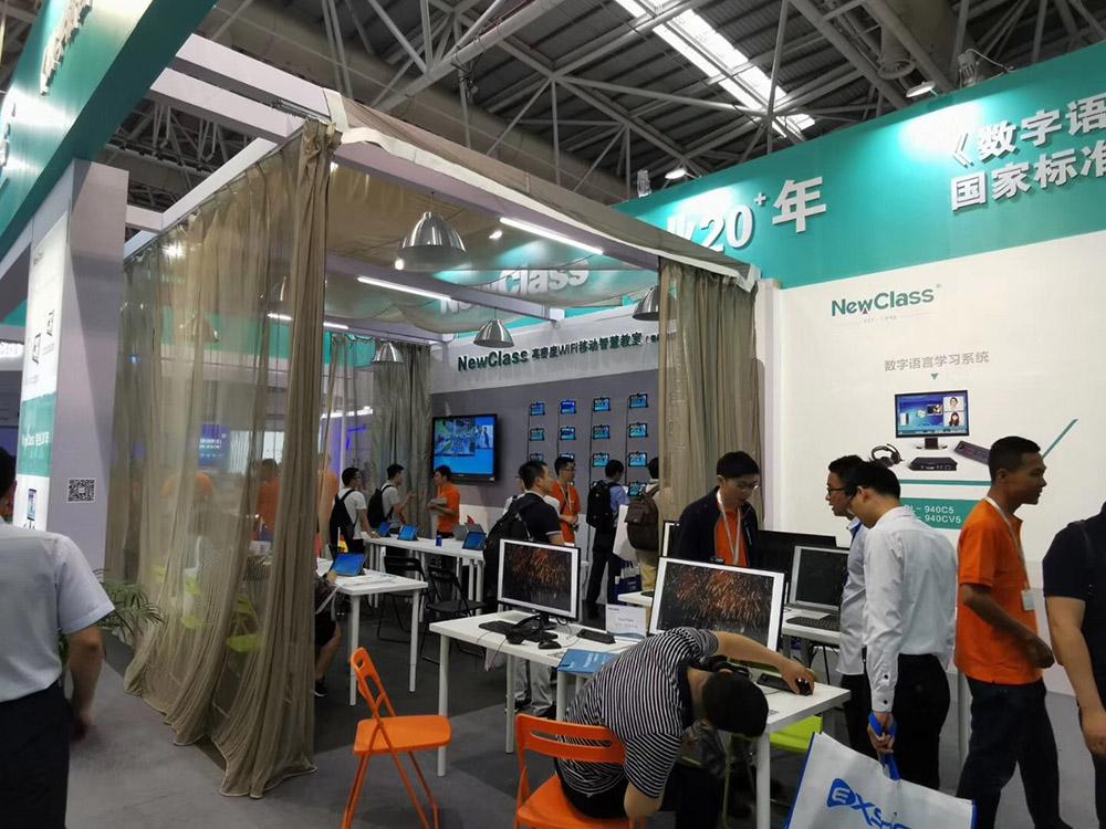追随教育信息化2.0,坚持科技创新,NewClass精彩福州高博会