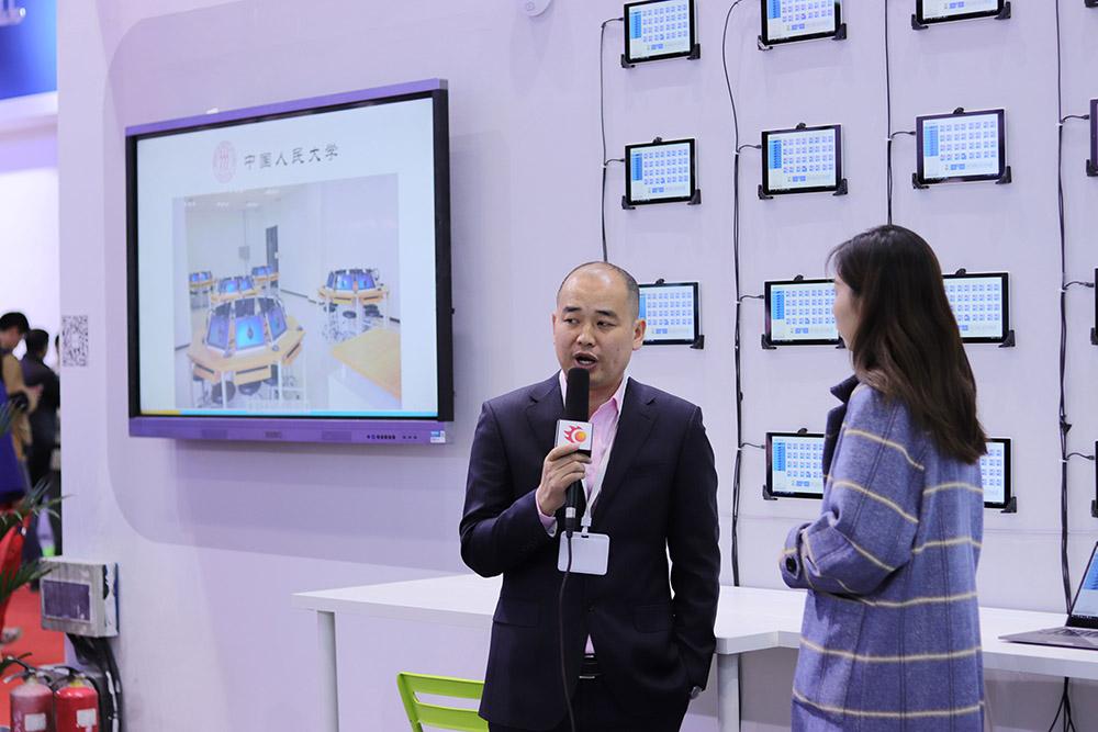 NewClass隆重参加第30届北京教装展