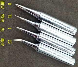 精密焊接烙铁头规格与型号