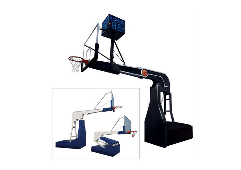 LQJ-001超豪华电动液压篮球架
