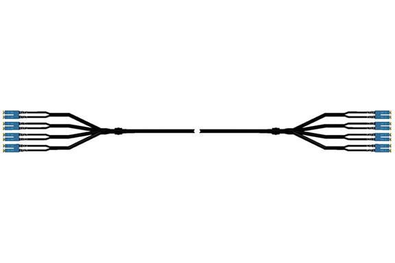 室外多芯光缆组线
