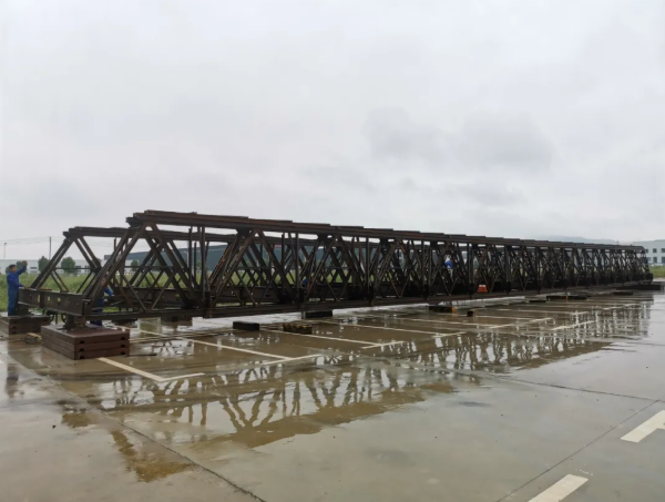 CB300型钢桥签订首单合同