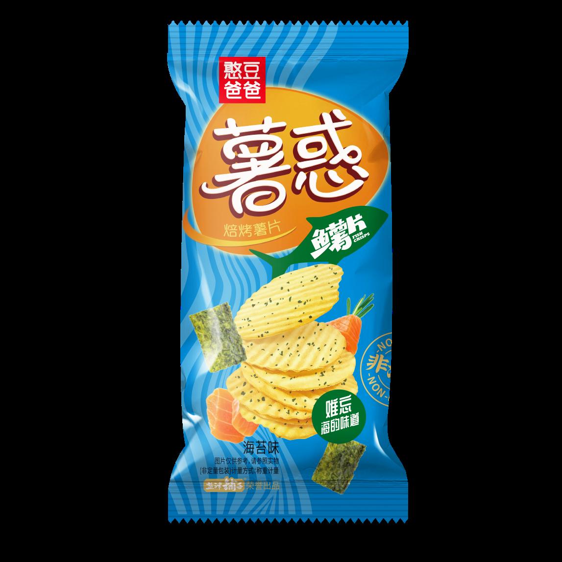 薯惑焙烤鱼薯片(海苔味)