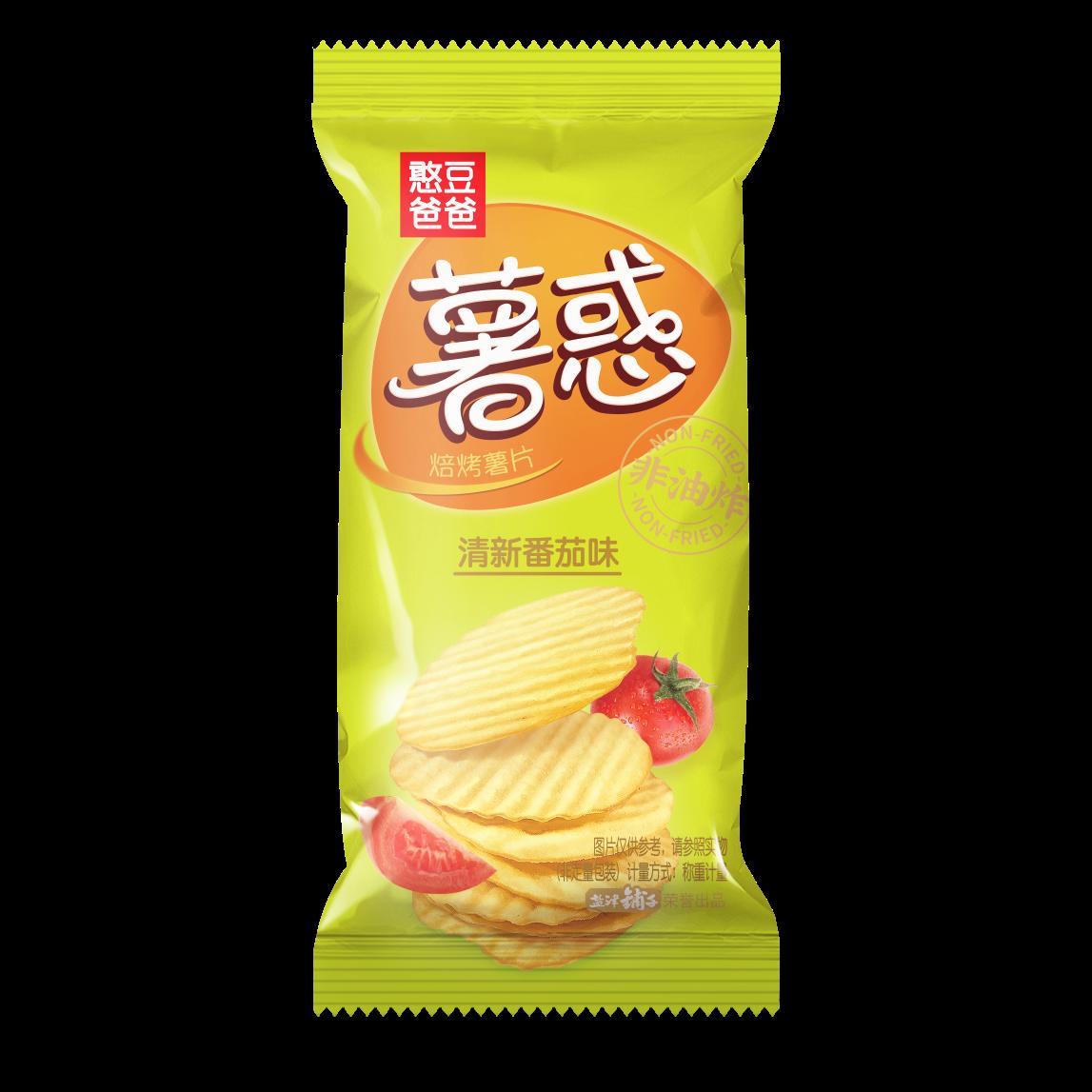 薯惑焙烤薯片(清新番茄味)