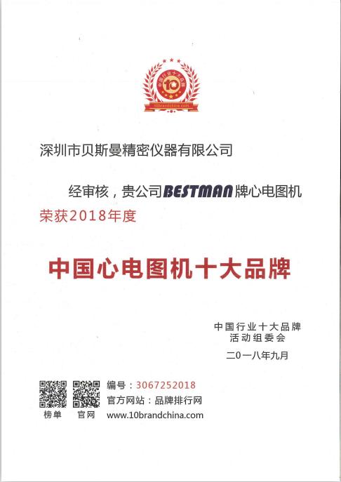 中国心电图机十大品牌
