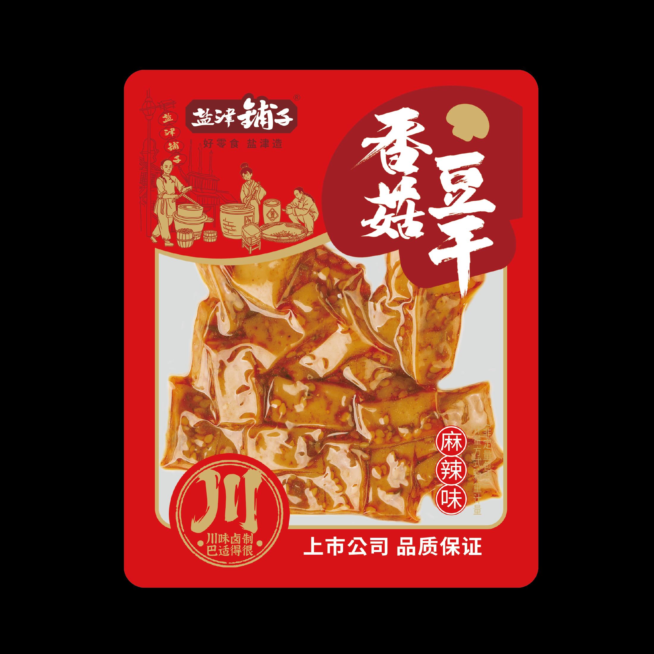 香菇豆干-麻辣味