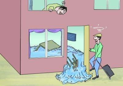 闻案说法丨租户居住期间,污水外溢浸泡邻居家具该谁承担责任
