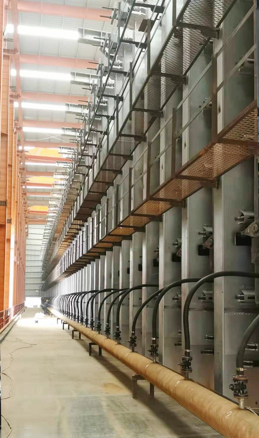 项目动态   江西新钢首座7m焦炉点火烘炉
