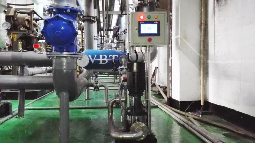 东莞新科实业有限公司冷凝器在线清洗