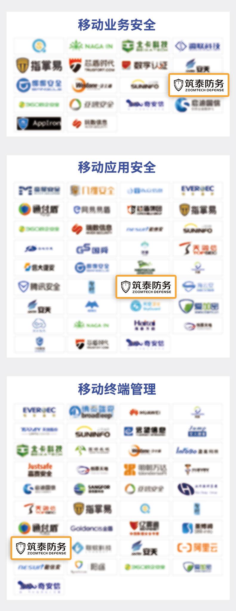 筑泰防务连续上榜FreeBuf《CCSIP 2021中国网络安全产业全景图》