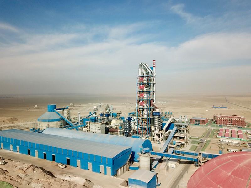 新疆墨玉尧柏4500t/d水泥熟料生产线总包项目