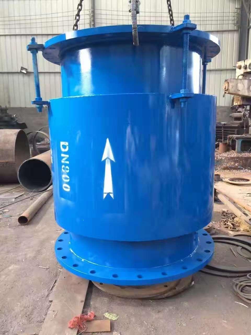 城镇供暖管道中套筒补偿器的使用方法