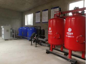 湖北省农科院果茶所梨树研究基地水肥一体化示范项目