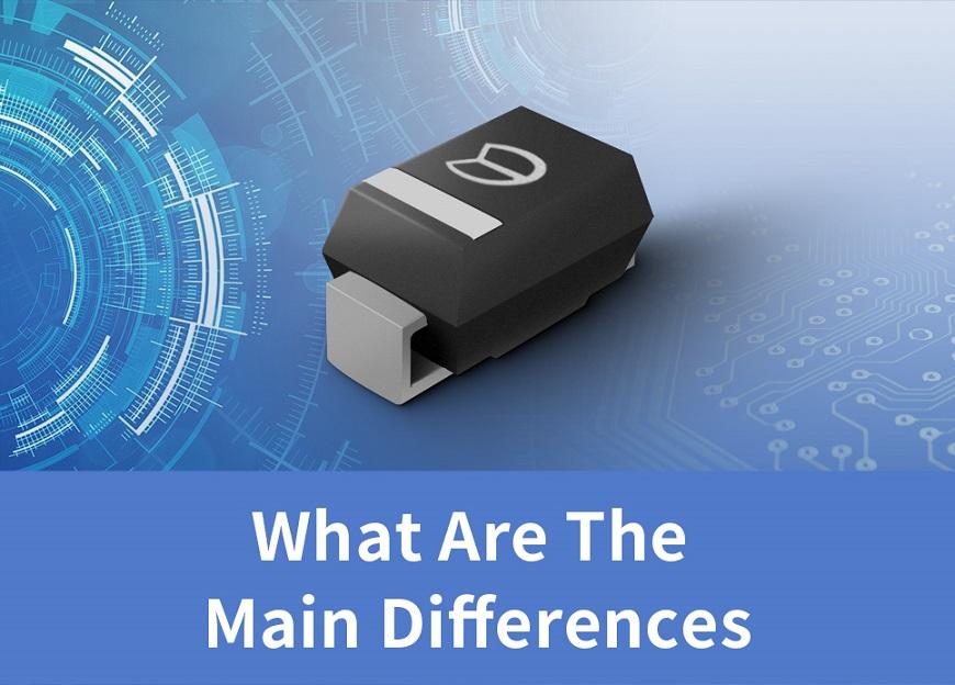 瞬态抑制二极管与ESD保护二极管的区别主要表现在哪些方面