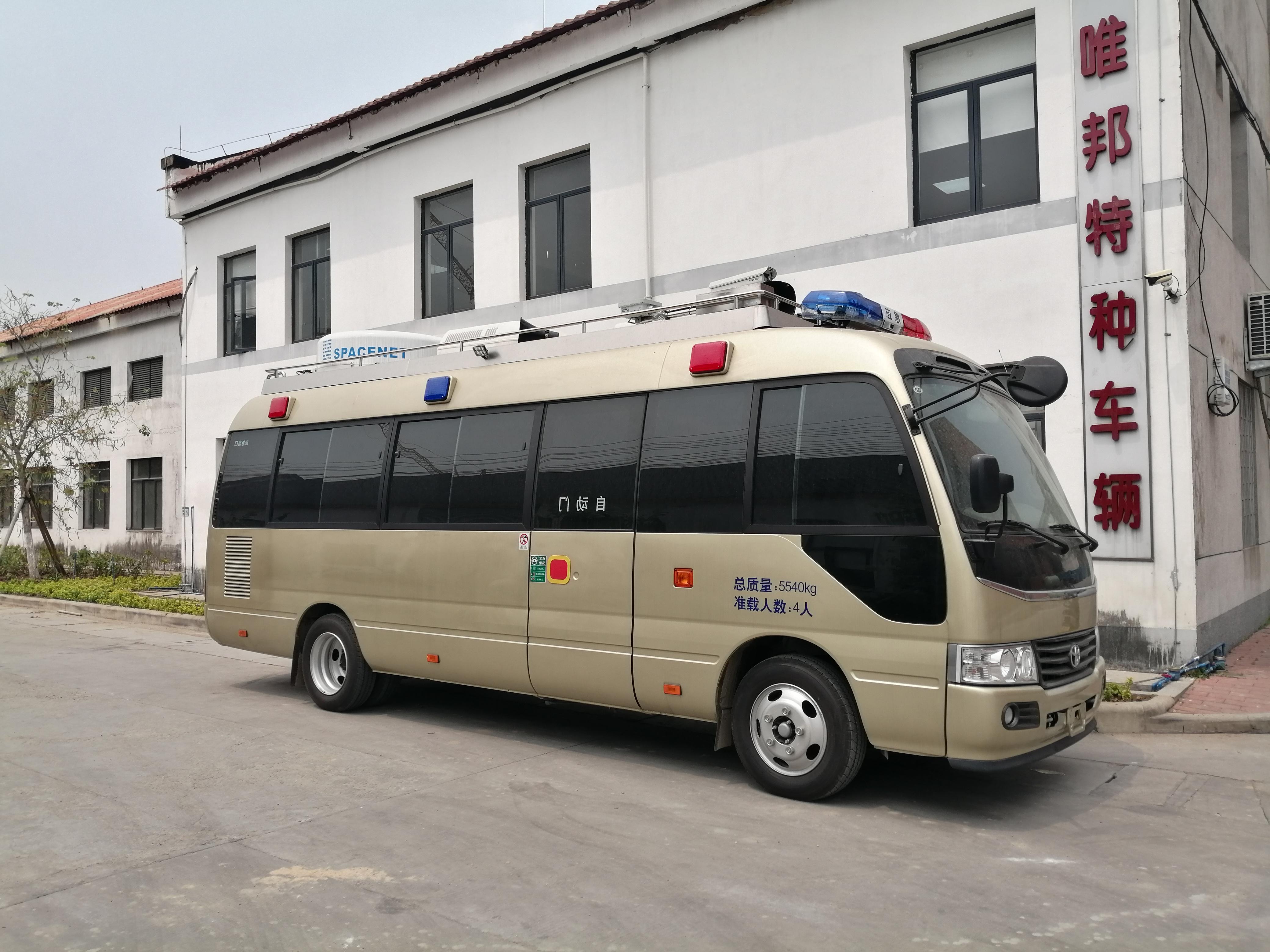 我公司生产的GWB5050XTX通信车已成功交付