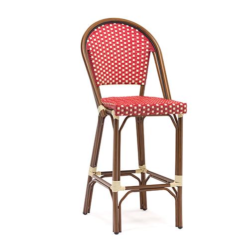 French style rattan bar chair / Французский стиль ротанг бар стул