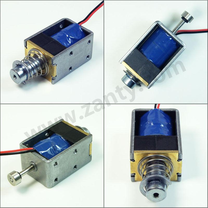 单保持电磁铁SDK-1037S系列 考勤打卡机用保持式电磁铁