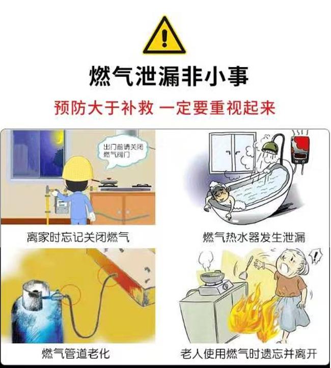 燃气爆炸事故时有发生!关于燃气安全,你了解多少?