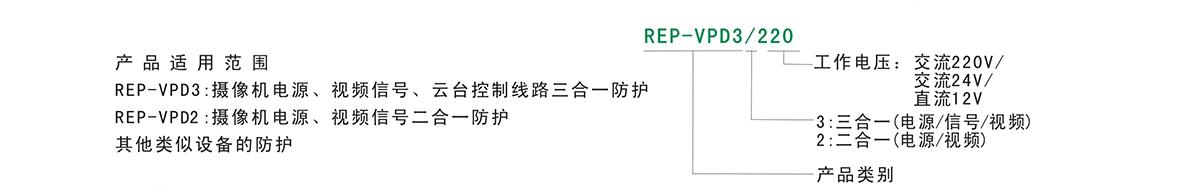 REP-VPD2、REP-VPD3
