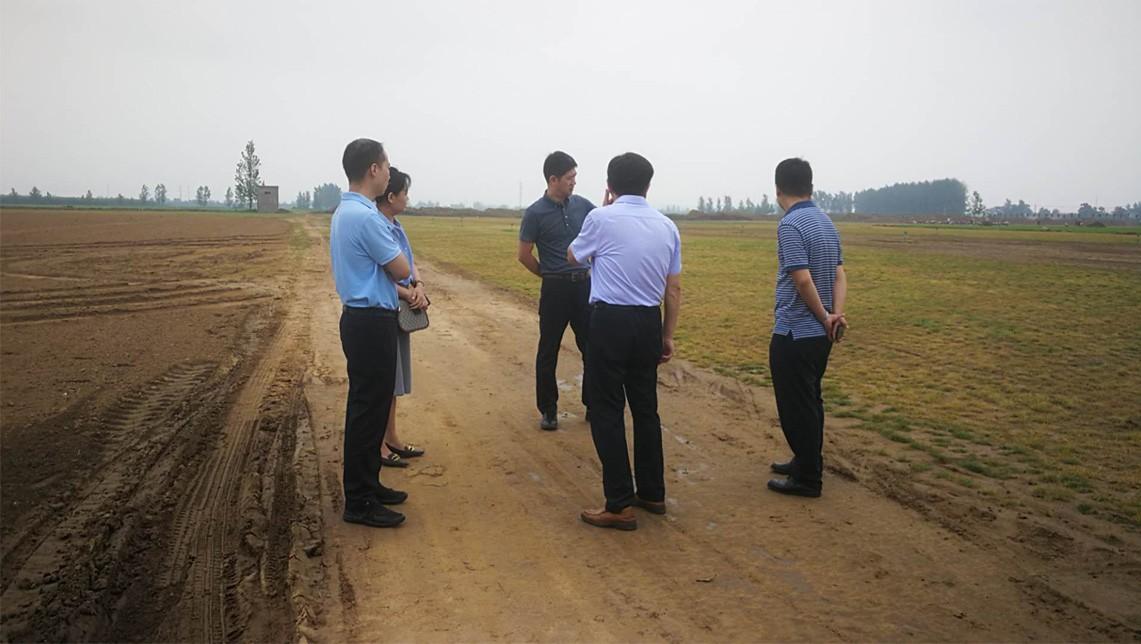 河南水投水土资源开发有限公司到华美雷竞技app下载官网考察调研