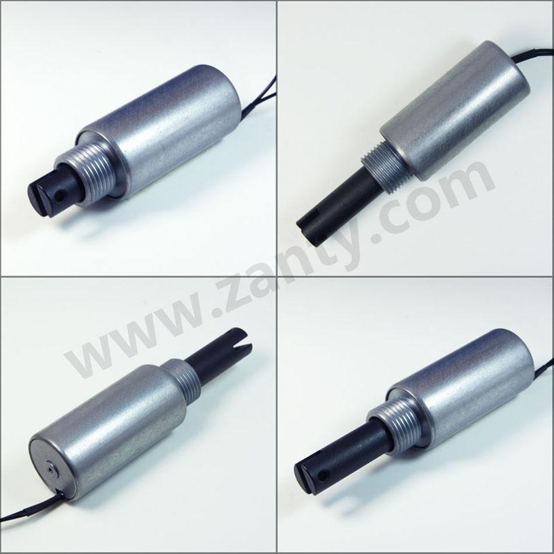 SDT-2551L圆管电磁铁 自动化设备执行开关用圆管式推拉电磁铁