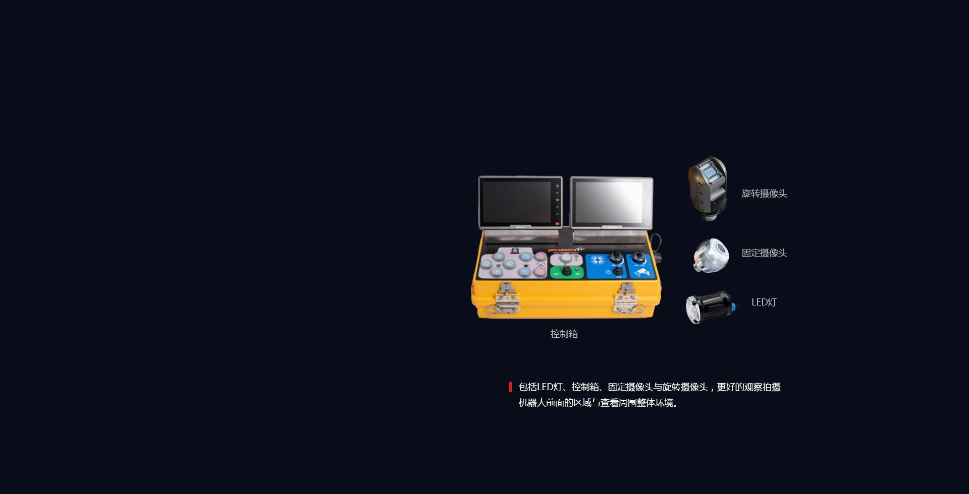 水下摄像和灯光系统