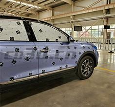 汽车车身三维扫描逆向设计