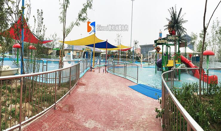 银基水世界乐园膜结构