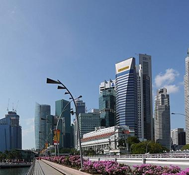 沿江城市外景3d贴图