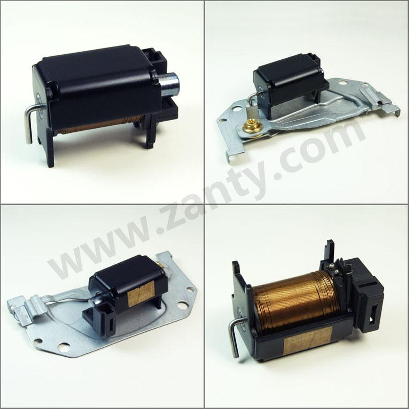 电磁铁SDC-0835S 汽车氙气大灯远近光切换推拉耐高温电磁铁