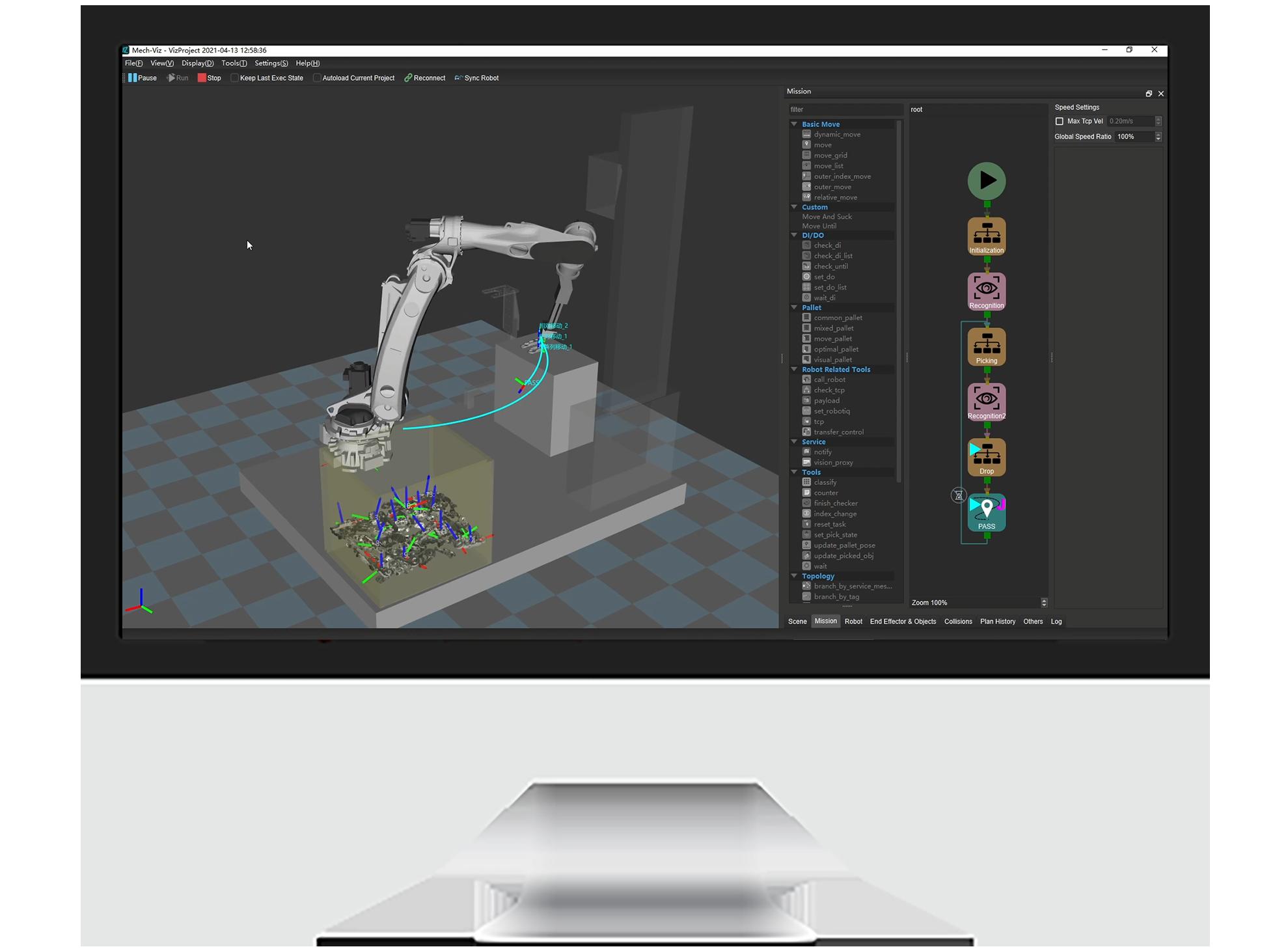 Mech-Viz Intelligent Robot Programming Environment