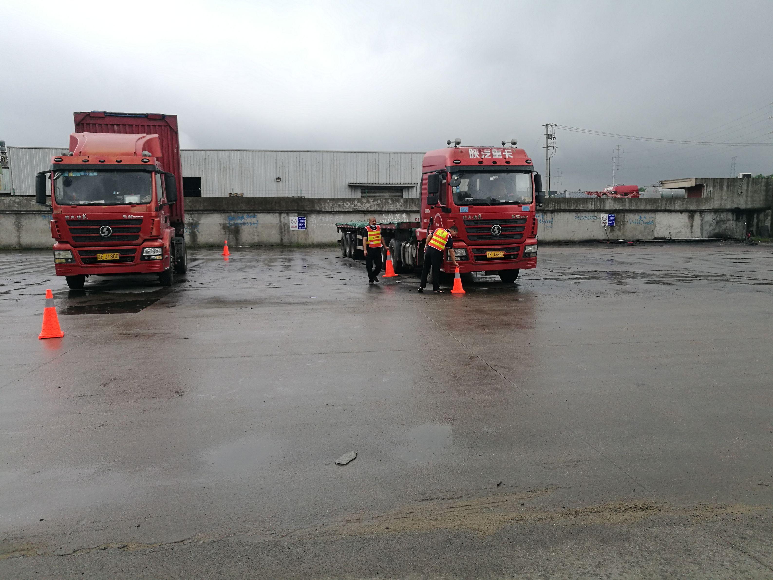 宝供物流为重型卡车驾驶员举办悍士防御性驾驶技术培训