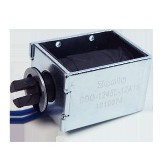 电磁铁SDO-1245L 广告图文打印系统广告刻字机推拉电磁铁螺线管