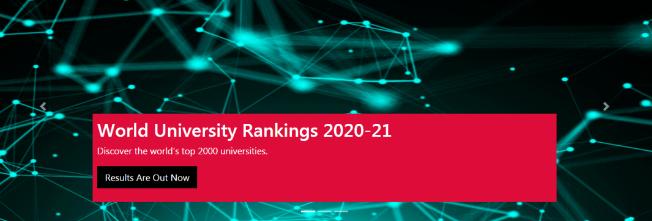 重磅!2020-2021CWUR世界大学排名发布!哈佛依旧第一,清北排名下降?!!