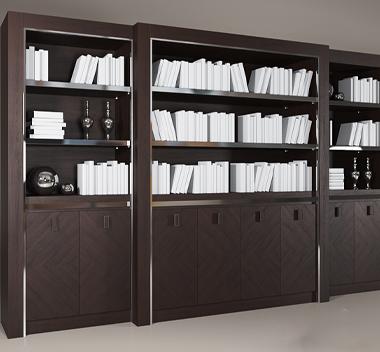 后现代书柜3d模型