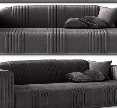 凯迪拉克沙发3d模型