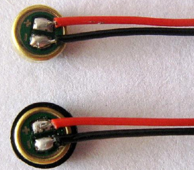 手工焊锡耳机咪头的方法