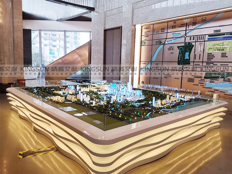 成都广汇城规划沙盘