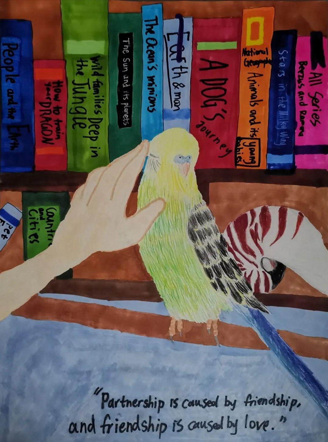 喜报|153名学员获2020安徒生国际插画大赛大奖
